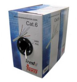 CABO UTP CAT6A CCA TK - 305M - Teka
