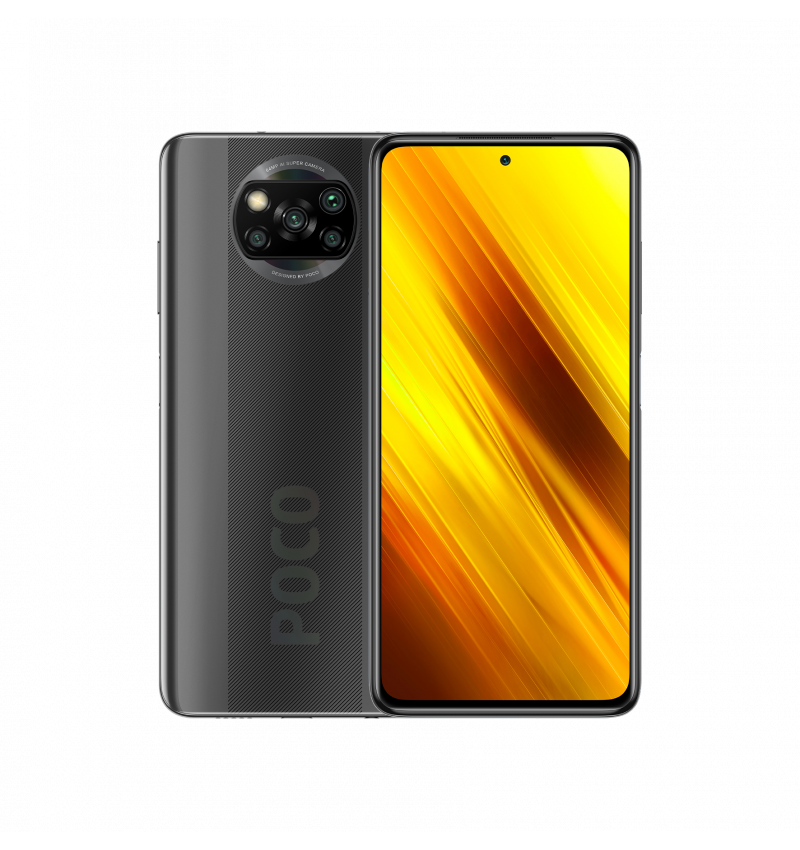 "Smartphone XIAOMI Poco X3 NFC 6.67"" 6GB+128GB Gray"