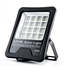 Projetor LED SOLAR KM 100W - LD1021469 - Levante Já em Loja