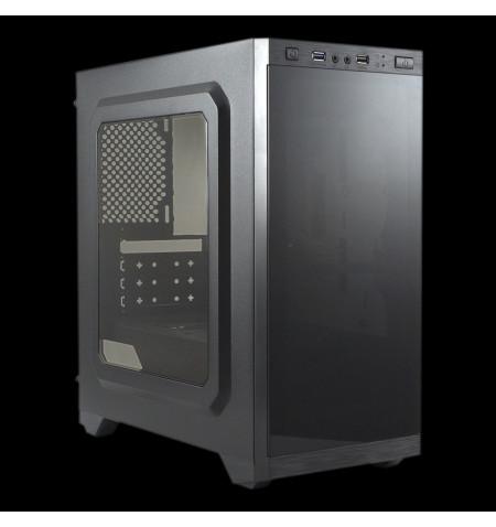 Caixa  AERO C21  MicroAtx  Gaming  Preto sem fonte