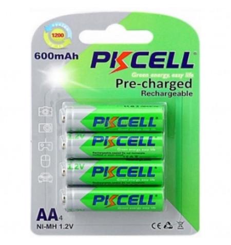 Bateria PKCELL AA R6 600mAh - Levante Já em Loja
