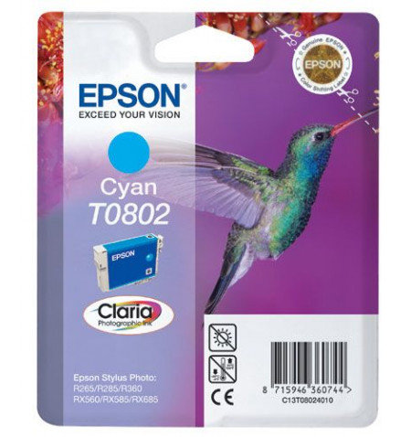 Tinteiro Original Epson Ciano (C13T08024021)