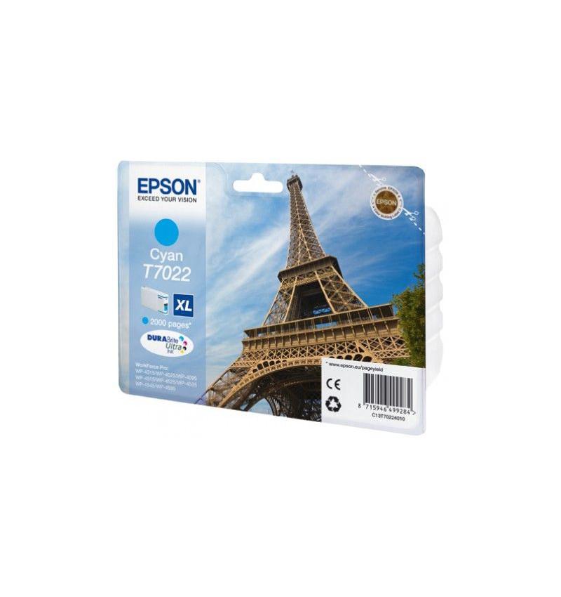Tinteiro Original Epson Cyan de Alta Capacidade WP-4000/4500