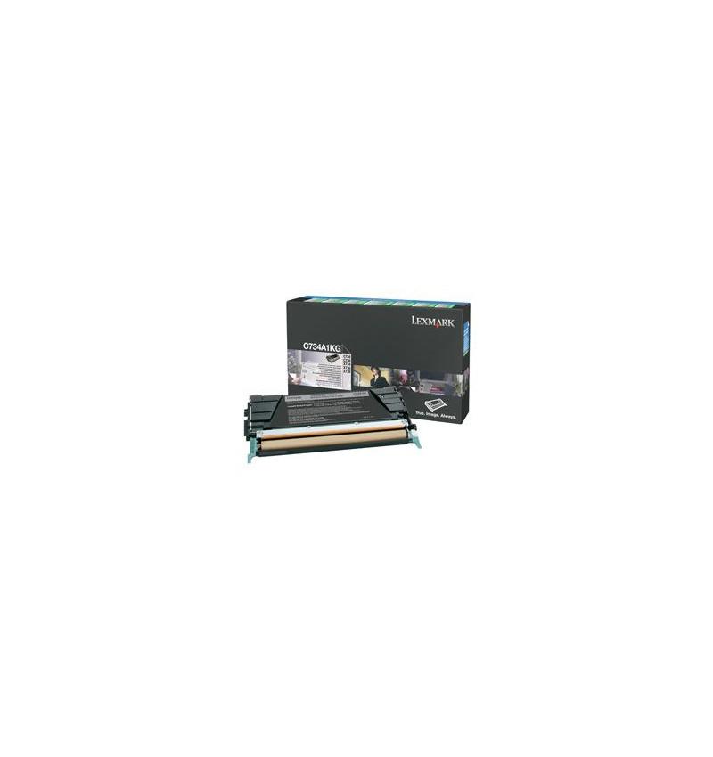 Toner Original Lexmark Preto 8K C734A1KG