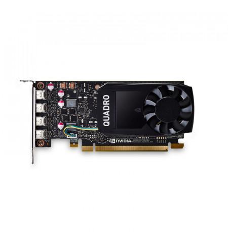 PNY Quadro NVIDIA P1000 - 4GB - GDDR5 - VCQP1000DVIV2-PB