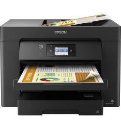 Impressora Epson WorkForce WF-7830DTWF - C11CH68403