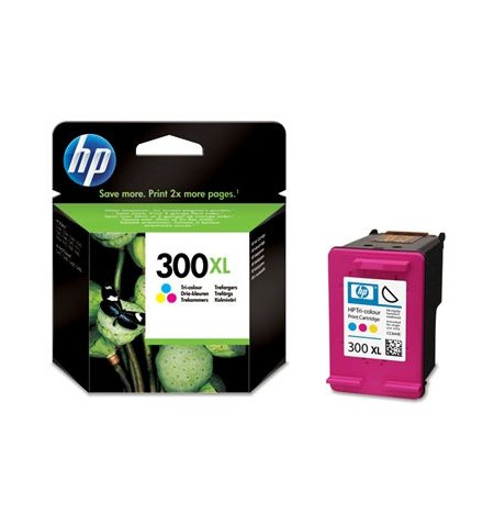 Tinteiro Original HP 300XL Tri-colour (CC644EE)