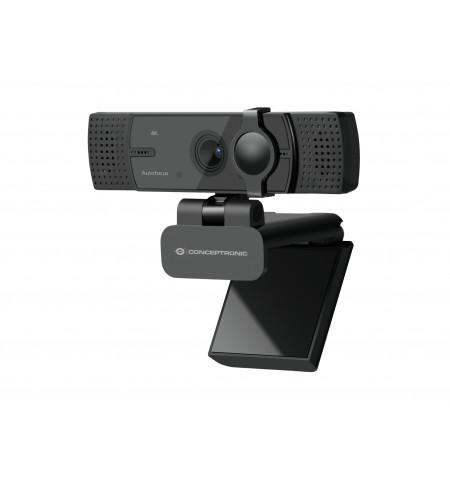 CONCEPTRONIC WEBCAM AMDIS 07B 4K ULTRA HD DUAL MICRO/ USB-C & USB
