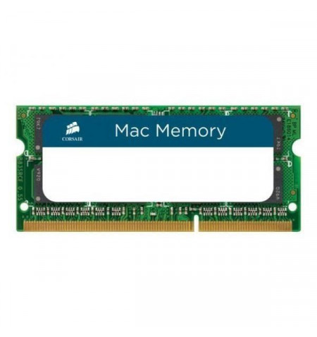 Corsair DDR3 1333MHz 8GB 1x204 SODIMM Apple Qualified - CMSA8GX3M1A1333C9