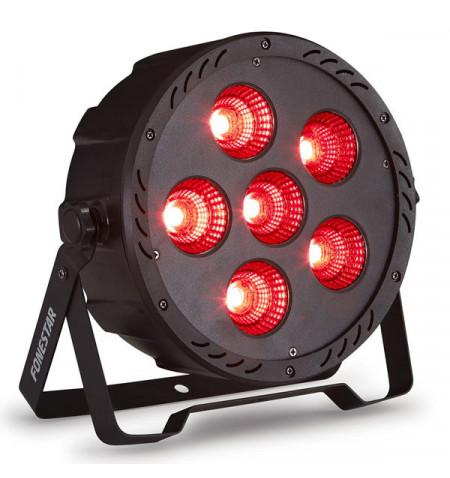 FONESTAR PROJETOR RGB DMX 6 LED COB *PROMO*