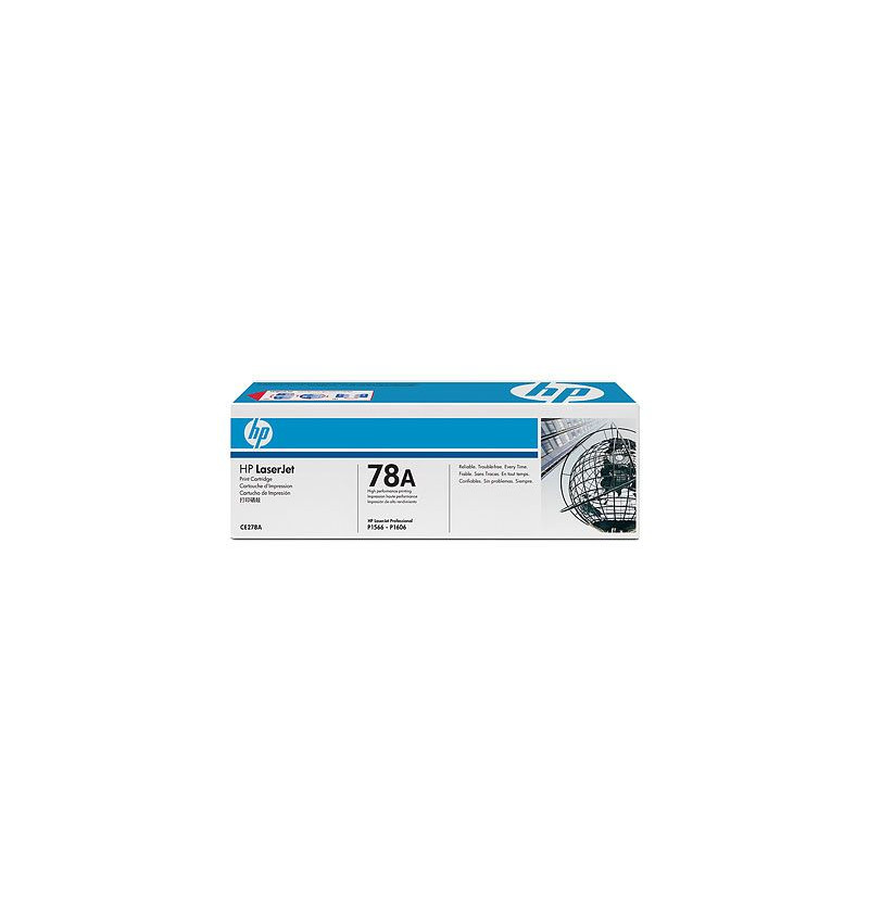 Toner Original HP 78A Black Dual Pack Laserjet Print Cartridge with Smart Printing Technology