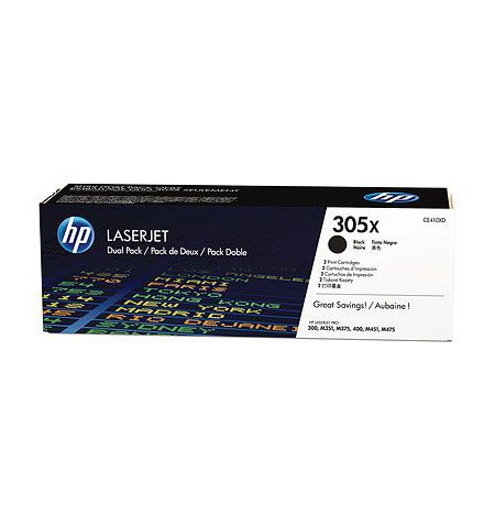 Toner Original HP 305X Preto (CE410XD)