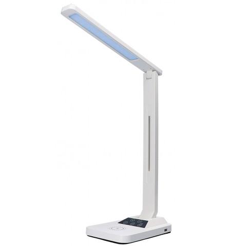 Candeeiro secretária Maxcom 18W  390 Lumens  Light Temp. warm 3000K, neutral 4200, smooth - White