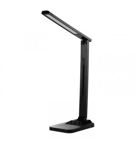Candeeiro secretária Maxcom 18W  390 Lumens  Light Temp. warm 3000K, neutral 4200, smooth - Black