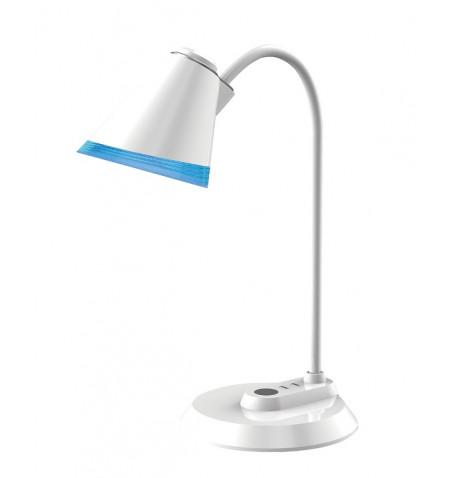 Candeeiro secretária Maxcom 5 W  350/250 lm  Light color: warm 3000 K neutral smooth adjust - White