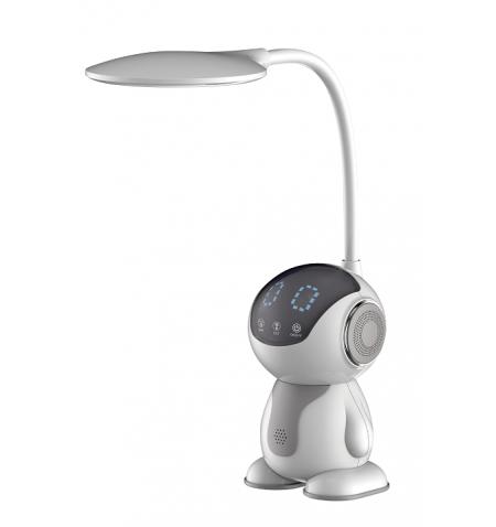 Candeeiro secretária Maxcom 7 W  500 lm  Light color: warm 3000 K, neutral 4300K - Grey/White