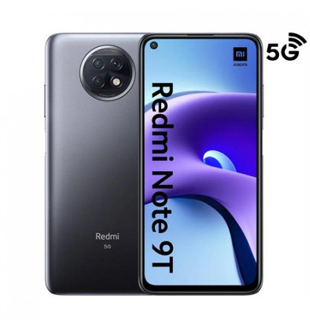 "Xiaomi Redmi Note 9T 5G 6.53"" 4/128GB Nightfall Black - MZB084MEU - Levante já em loja"