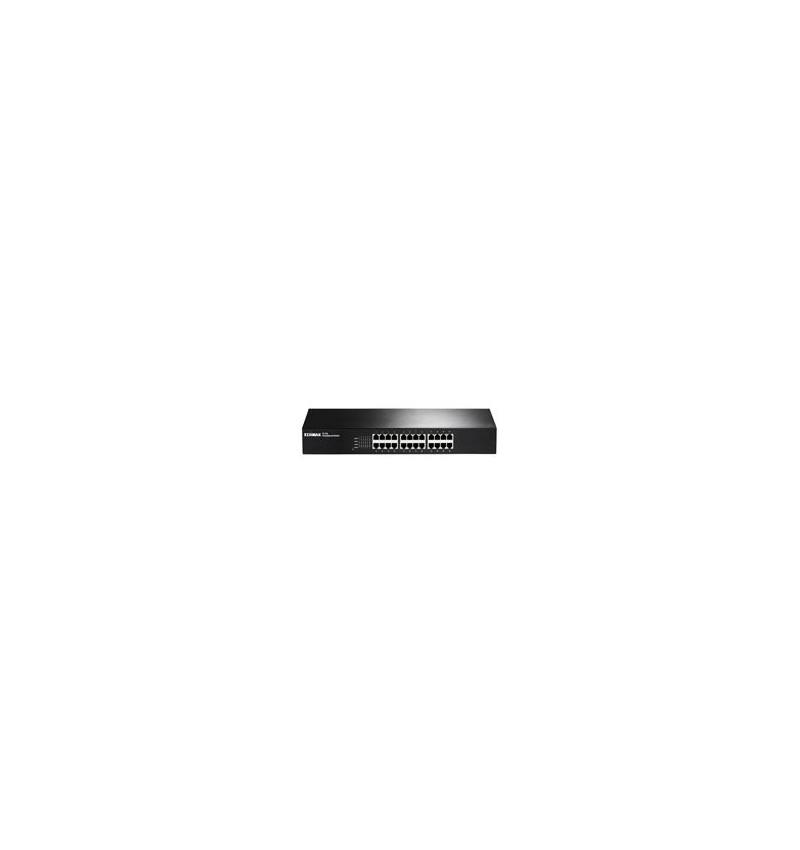 "Switch  Edimax 10/100 24-port 19"" Rackmount"