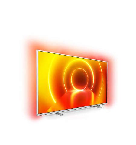 "PHILIPS LED TV 58"" UHD 4K SMART TV ULTRA SLIM AMBILIGHT CINZA 58PUS7855"