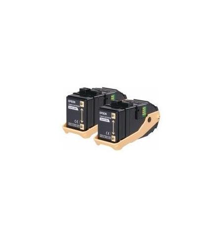 Toner Original Epson Pack Duplo Magenta Aculaser C9300
