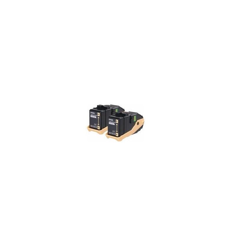 Toner Original Epson Pack Duplo Cyan Aculaser C9300