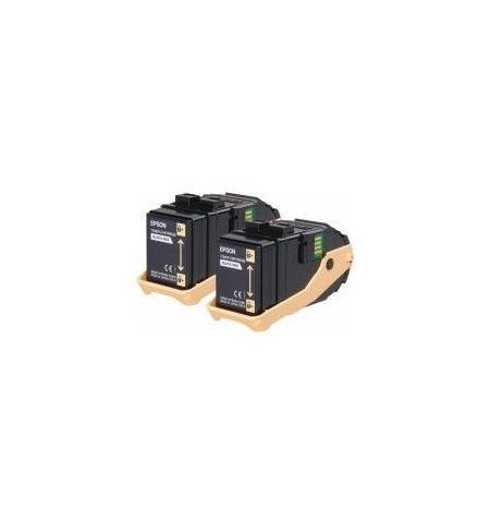 Toner Original Epson Preto Pack Duplo C9300