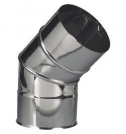 CURVA INOX 45º PORTOFLEX 100