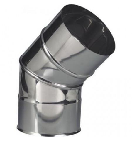 CURVA INOX 45º PORTOFLEX 110