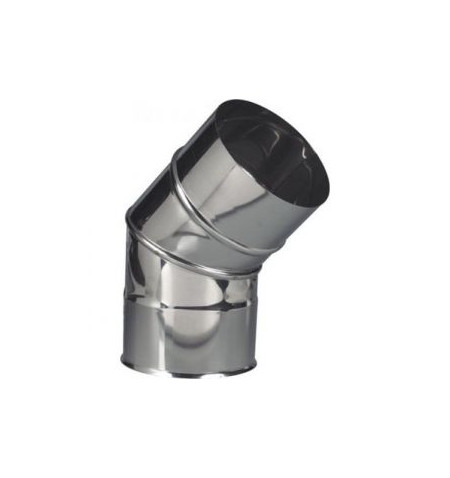 CURVAS METLOR INOX 180 A 45º