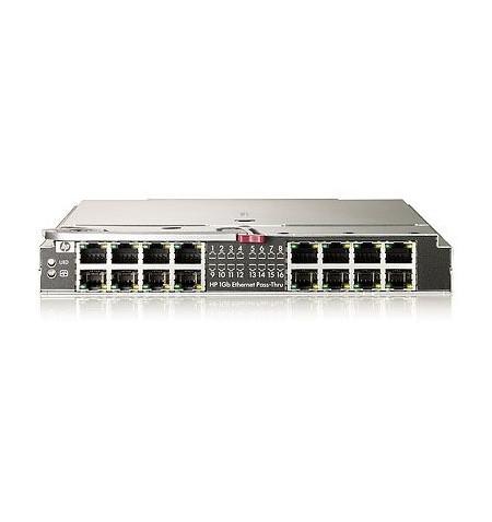 HP 1GB Ethernet Pass-Thru Module for c-Class BladeSystem