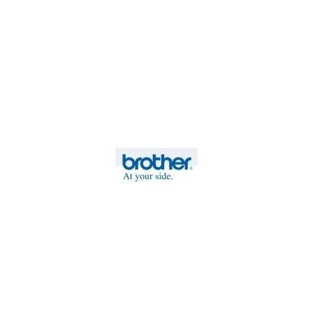 Rolo de papel BROTHER contínuo autocolante - branco