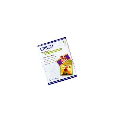 Papel EPSON Autocolante Qualidade Fotográfica A4 (10 Folhas)