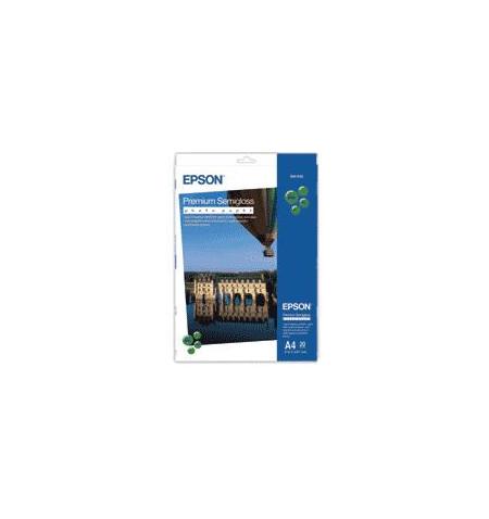 Papel Foto EPSON Semi-Brilhante Premium A4 (20 folhas)