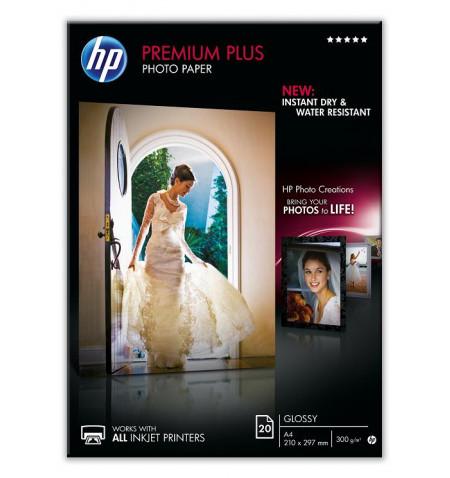 HP Papel Foto Premium Plus Glossy 20 sht A4