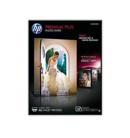 HP Papel Foto Premium Plus Glossy 20 sht
