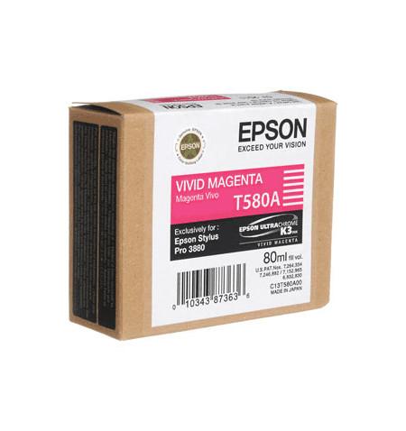 Tinteiro Original Epson Stylus Pro 3880 Magenta C13T580A00