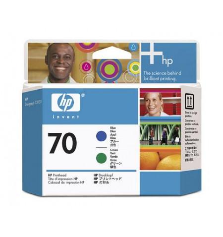 Tinteiro Original HP Azul/Verde C9408A