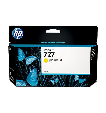 Tinteiro Original HP 727 130-ml Amarelo B3P21A