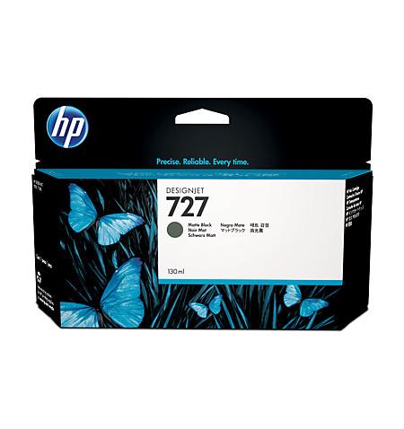 Tinteiro Original HP 727 130-ml Preto Matte B3P22A