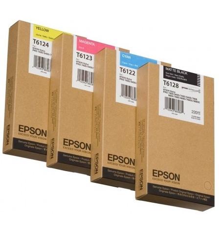 Tinteiro Original Epson SP-7450/9450 220ml Amarelo C13T612400