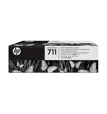 Cabeça de Impressão HP 711 Kit (C1Q10A)