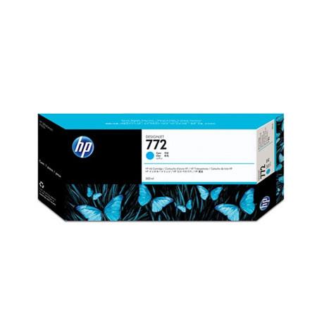 Tinteiro HP 772 300-ml Ciano CN636A
