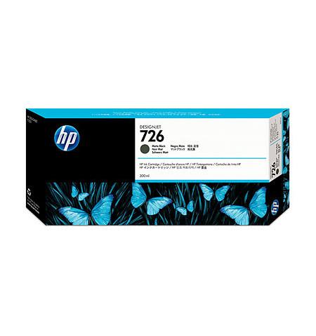Tinteiro Original HP 726 300-ml Preto Matte CH575A