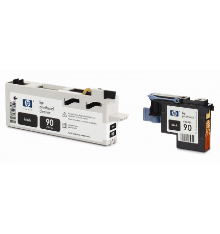 Tinteiro Original HP No. 90 Preto e Cleaner C5054A