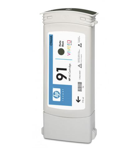 Tinteiro Original HP 91 775 ml Preto Matte C9464A
