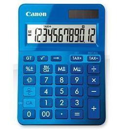 Calculadora Canon LS-123K Azul