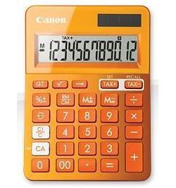 Calculadora Canon LS-123K Laranja