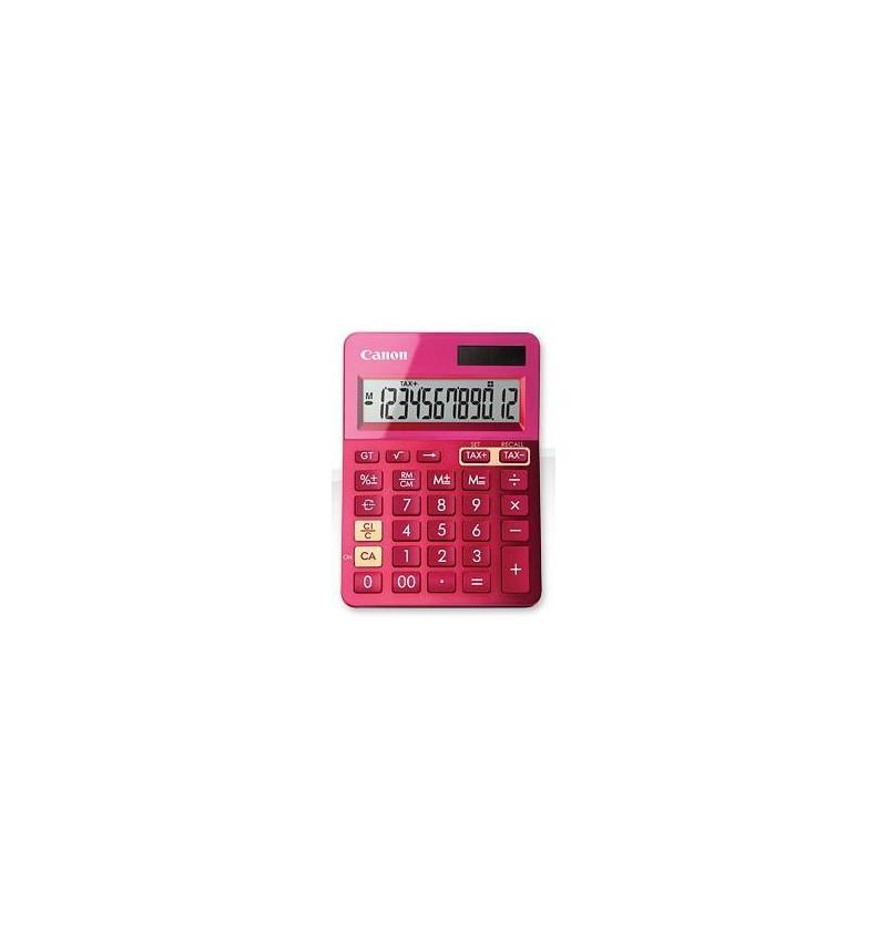 Calculadora Canon LS-123K Rosa