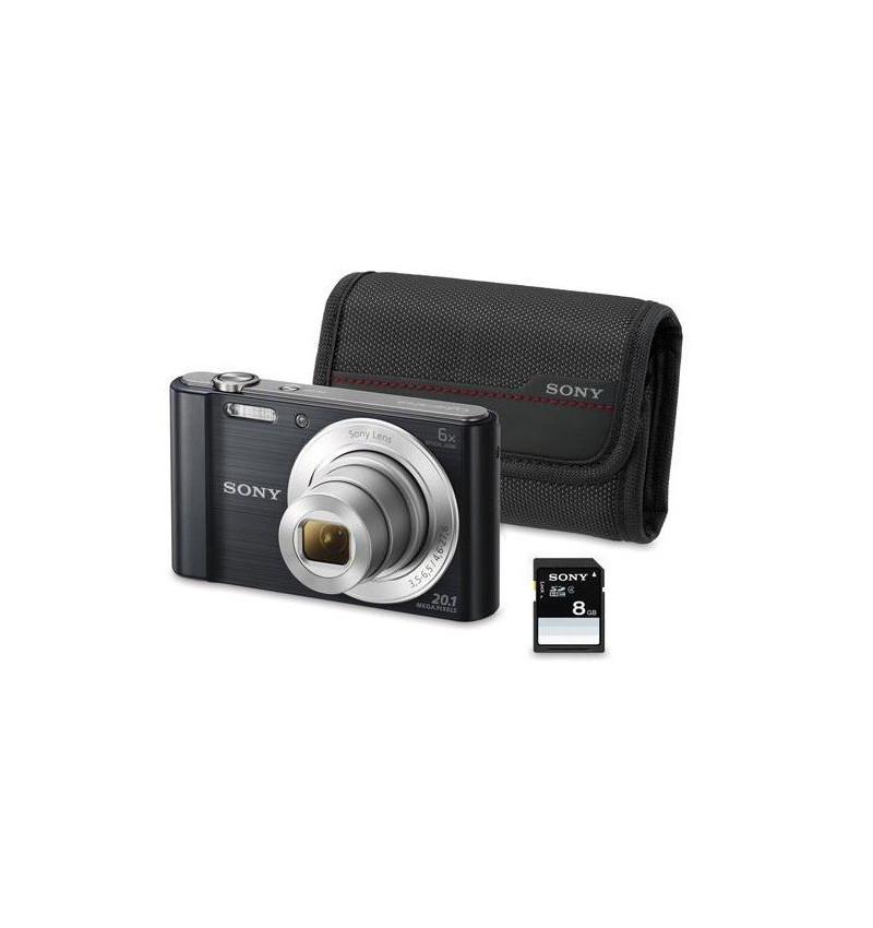 Sony W830 Preta KIT ( BOLSA + SD 8GB)