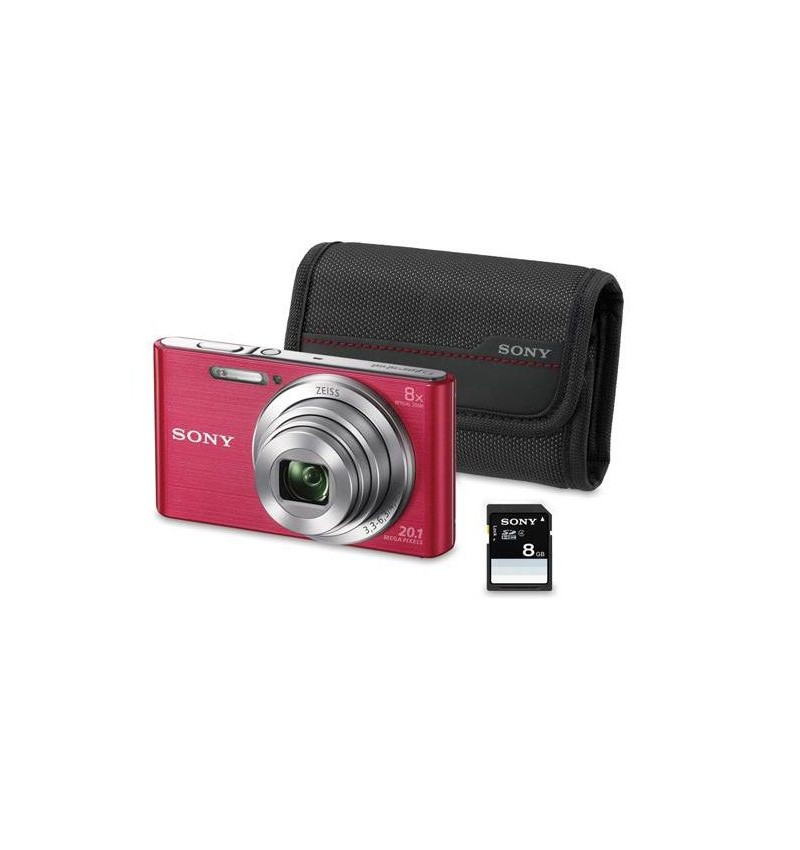Sony W830 Rosa KIT ( BOLSA + SD 8GB)